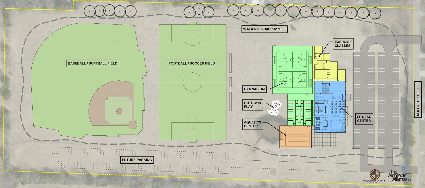 Southern Boone YMCA Phased Site Plan